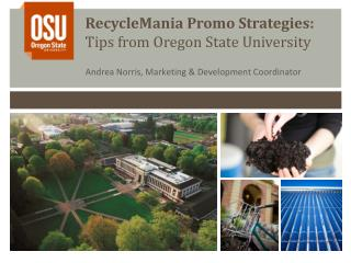 RecycleMania Promo Strategies: Tips from Oregon State University