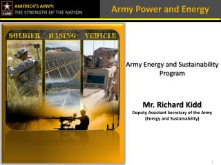 Army Power and Energy