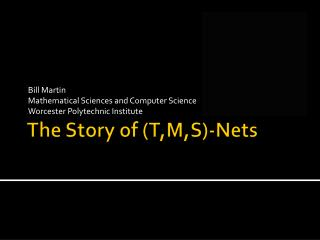 The Story of (T,M,S)-Nets