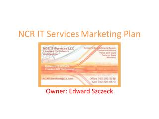 NCR IT Services Marketing Plan