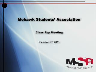 Mohawk Students' Association
