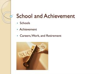 School and Achievement