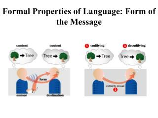 Formal Properties of Language: Form of the Message