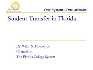 Student Transfer in Florida