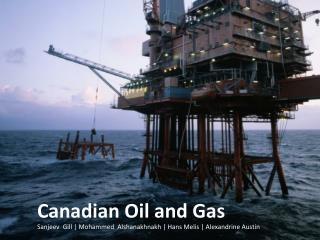 Canadian Oil and Gas