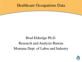 Healthcare Occupations Data