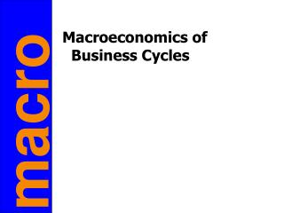 Macroeconomics of Business Cycles
