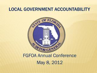 Local Government Accountability