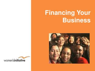 Financing Your Business
