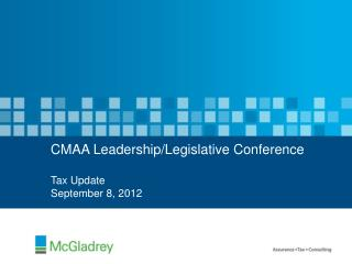 CMAA Leadership/Legislative Conference