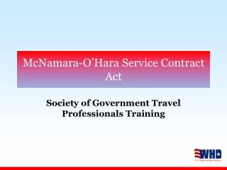 McNamara-O'Hara Service Contract Act