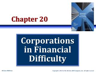 Corporations in Financial Difficulty