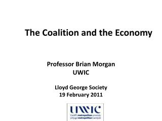 The Coalition and the Economy