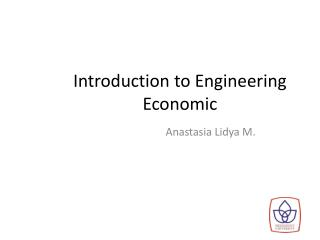 Introduction to Engineering Economic