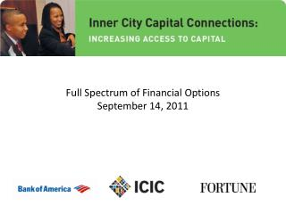 Full Spectrum of Financial Options September 14, 2011