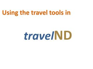 travel ND