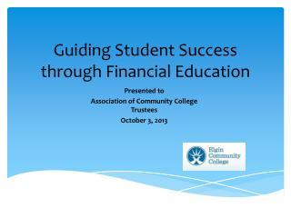 Guiding Student Success through Financial Education