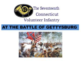 AT THE BATTLE OF GETTYSBURG