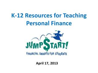 K-12 Resources for Teaching Personal Finance