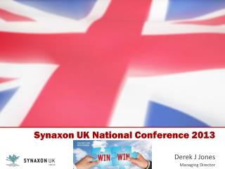 Synaxon UK National Conference 2013