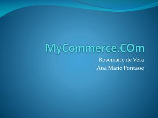 MyCommerce.COm