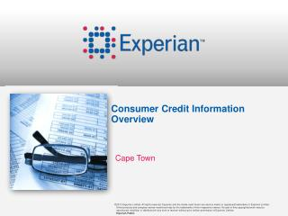 Consumer Credit Information Overview