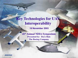 Key Technologies for UAV Interoperability