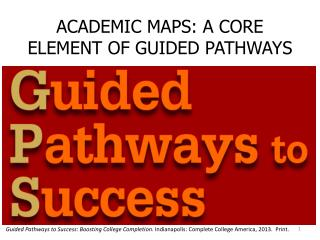 ACADEMIC MAPS: A CORE ELEMENT OF GUIDED PATHWAYS