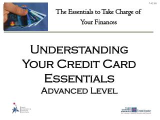 Understanding Your Credit Card Essentials  Advanced Level