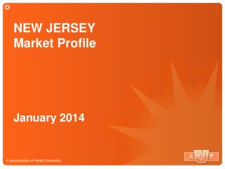 NEW JERSEY  Market Profile