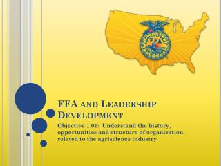 FFA and Leadership Development