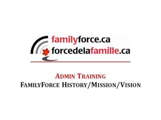 Chief Military Personnel envisioned a universal template for all Military Family Services websites following a CF Famil