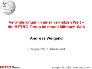 people & data | weigend.com