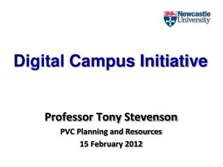 Digital Campus  Initiative