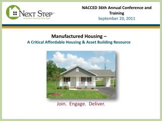 NACCED 36th Annual Conference and Training  September 20, 2011