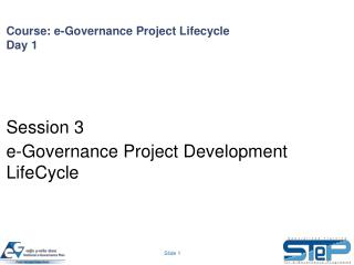 Course: e-Governance Project Lifecycle Day 1