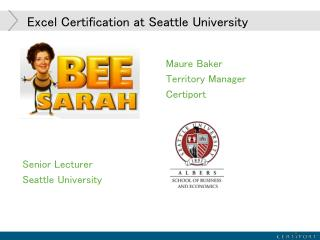 Excel Certification at Seattle University
