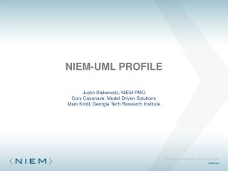 NIEM-UML Profile