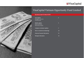 VinaCapital Vietnam  Opportunity Fund Limited