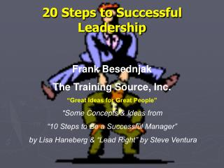 20 Steps to Successful Leadership