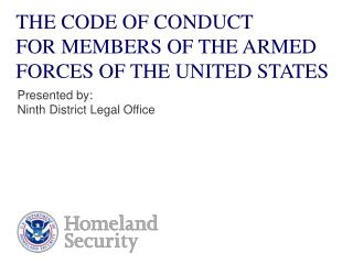 the code of conduct  for members of the armed forces of the united states