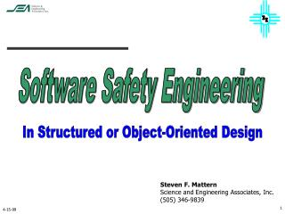 Software Safety Engineering