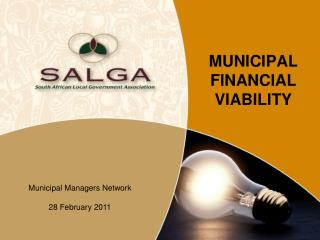 MUNICIPAL FINANCIAL VIABILITY