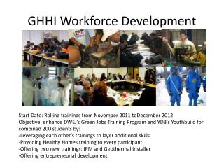 GHHI Workforce Development