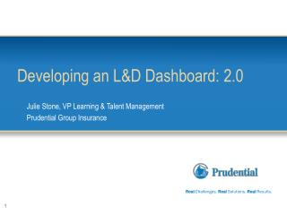 Developing an L&D Dashboard: 2.0