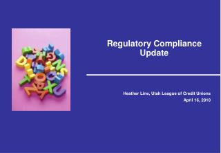 Regulatory Compliance Update