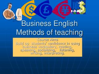 Business English Methods of teaching