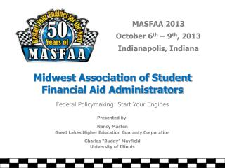 Midwest Association of Student  Financial Aid Administrators