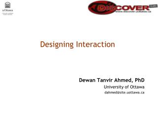 Designing Interaction