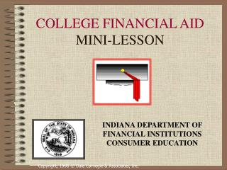 COLLEGE FINANCIAL AID MINI-LESSON